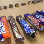 Geology through chocolate